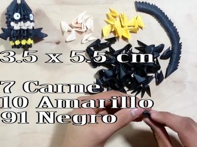 Batman Origami 3d