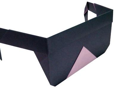 Gafas de sol de Origami