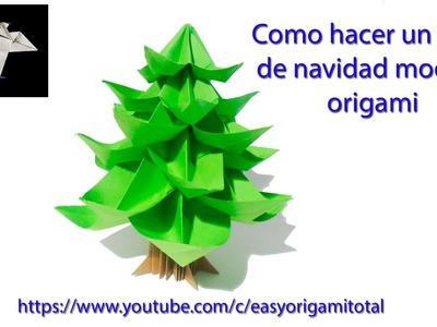 Como hacer un arbol de navidad modular how to make an origami modular christmas tree