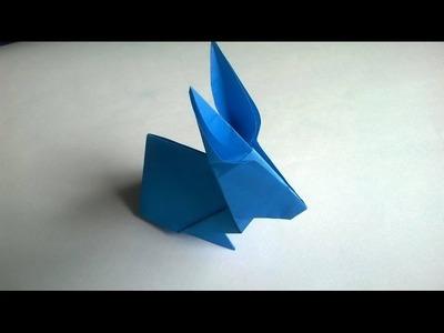 ★Cómo hacer un conejito de papel facil★ - Origami Rabbit