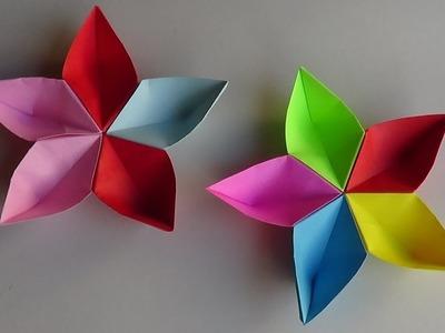Manualidad: Estrella Basica Navideña en Origami - Hogar Tv  por Juan Gonzalo Angel