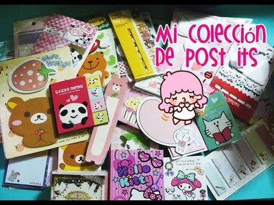 MI COLECCIÓN DE POST IT KAWAII - MY COLLECTION KAWAII