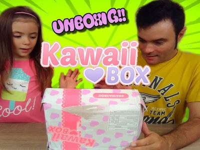 Unboxing Kawaii Box Noviembre y Sorteo de una Kawaii Box!!!