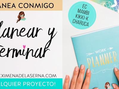 Cómo ser productiva y terminar CUALQUIER proyecto   El Project Planner XDS