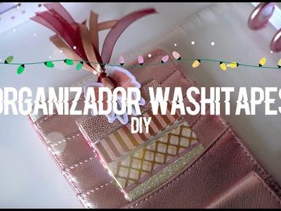 DIY ORGANIZADOR WASHITAPES PARA EL PLANNER | DIY REGALO PARA LOS PLANNERAHOLIC | NOCTURNELLA