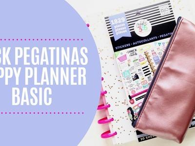 Pack de pegatinas Happy Planner Basic