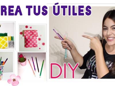 SÚPER FÁCIL, haz tus propios útiles escolares  - Mayra Alejandra