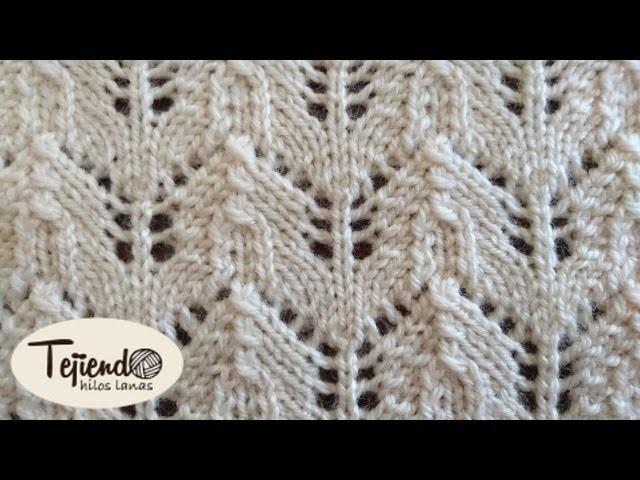 Punto tejido en dos agujas my crafts and diy projects - Labores punto dos agujas ...
