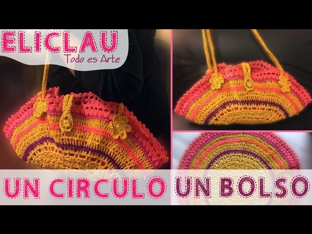 Un círculo, un bolso | Tejidos | A circle, a woven bag | EliClau