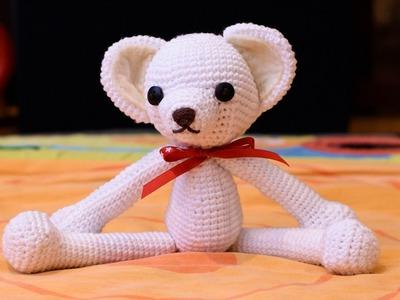 Amigurumi | como hacer un oso en crochet (Parte 1) Bibiana Mejia Crochet 2017