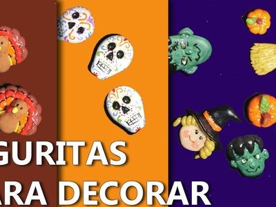 COMO HACER FIGURITAS PARA DECORAR | Foami moldeable manualidades