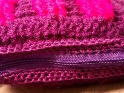 Como poner cierre en tejidos a crochet