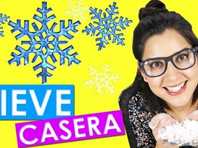 DIY NIEVE casera  ***  2 INGREDIENTES     fake snow     experimento