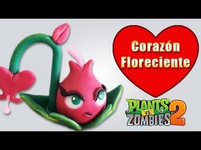 PLANTS VS ZOMBIES CORAZÓN FLORECIENTE EN ✓ PORCELANA ✓ PLASTILINA ✓ POLYMER CLAY
