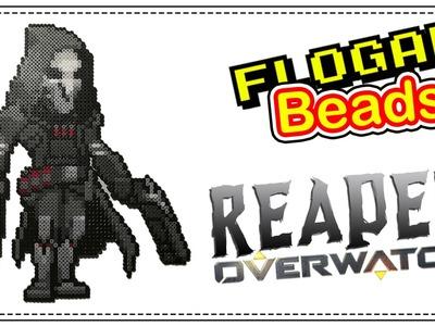 REAPER OVERWATCH - HAMA BEADS DE VIDEOJUEGOS #6 - DIY - FLOGAR BEADS TUTORIALES