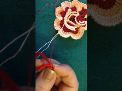 VIDEO Nº15.1 CROCHET  IRLANDES CENTRO DE ROSA