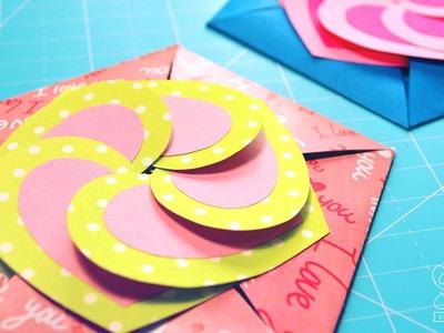 Carta fácil para regalar - Love Card  [DIY ♥ San Valentín]