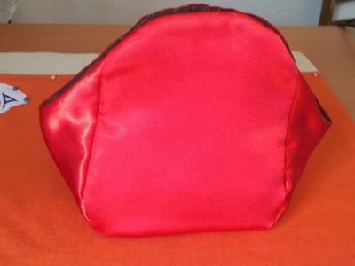 CROCHET IRLANDES- Bolsito Mama -Tutorial 1 marcar patron y coser