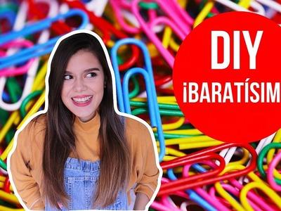¡HAZ EL DIY MÁS BARATO DEL MUNDO! | Gisy