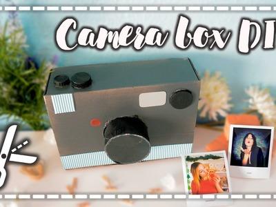 Manualidades fáciles para el 14 de febrero - Camera Box DIY