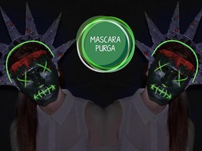 Máscara de la purga. Máscara estatua de la Libertad DIY | MirrorMirror