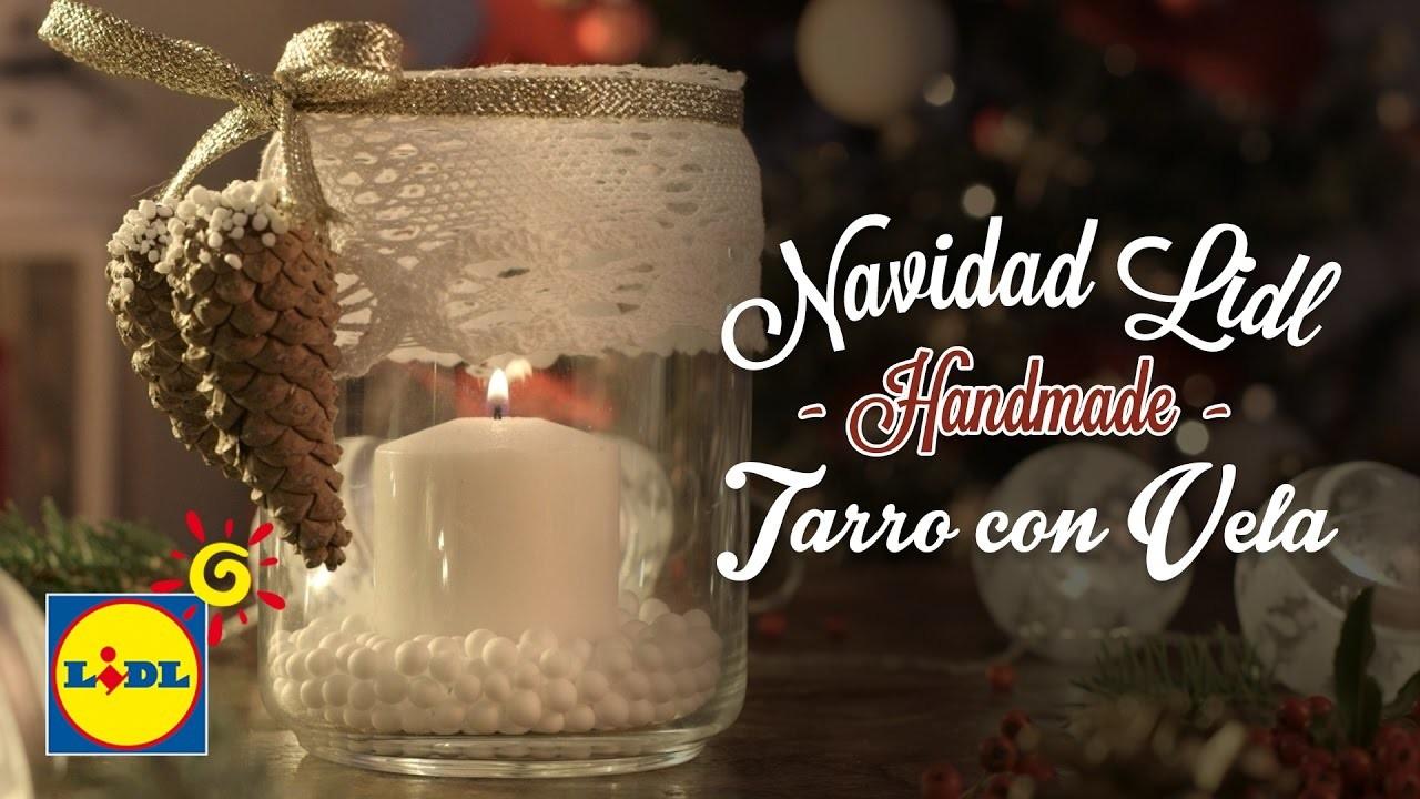 Tarro Con Vela - Handmade Navidad