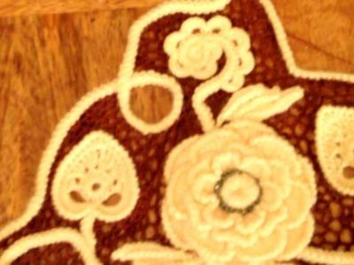 Vídeo Nº12 Crochet irlandés Creación de tejido. el resultado final.