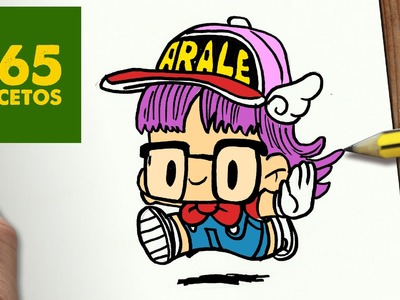 COMO DIBUJAR ARALE KAWAII PASO A PASO - Dibujos kawaii faciles - How to draw a ARALE