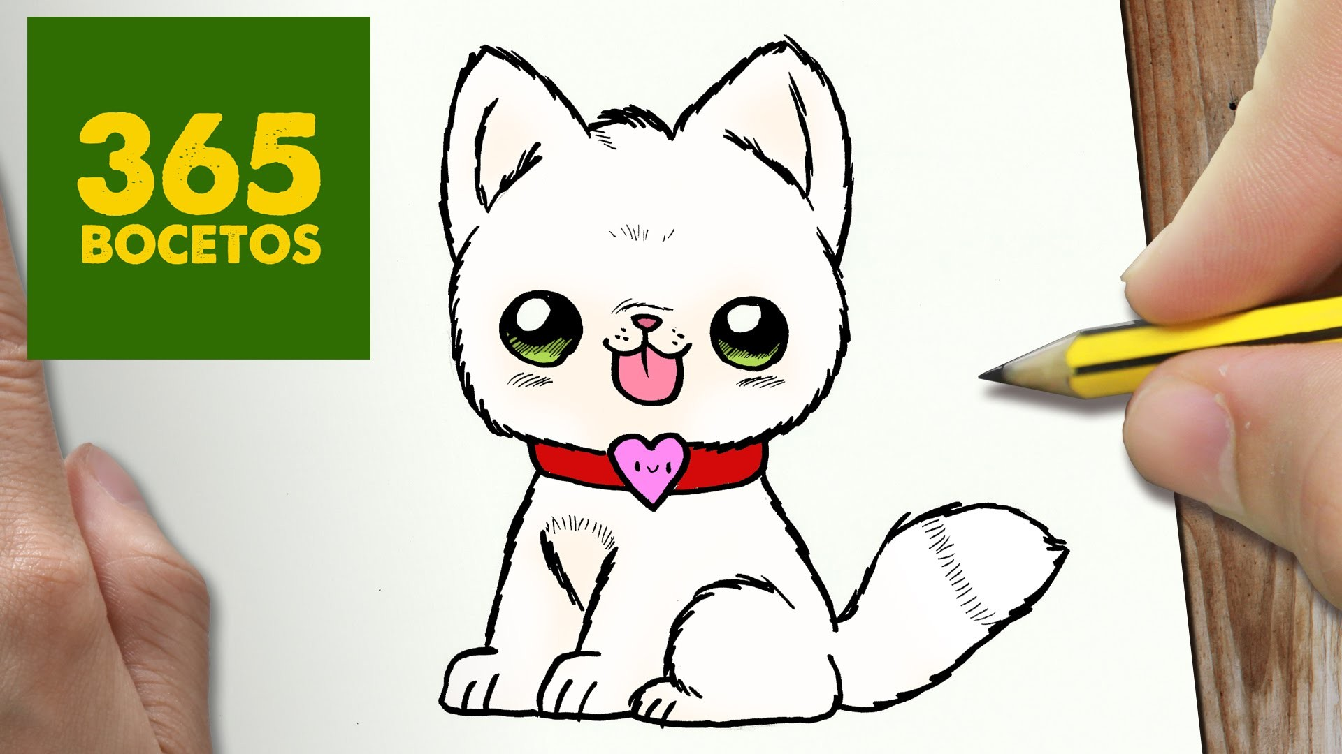 Como Dibujar Perro Kawaii Paso A Paso Dibujos Kawaii Faciles How