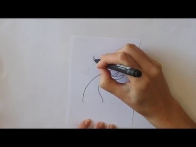 Cómo dibujar un Árbol Floreciendo Dibuja Conmigo Dibujos de Primavera