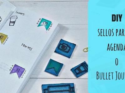 ¿Cómo hacer sellos para decorar la agenda o el Bullet Journal? |DIY|
