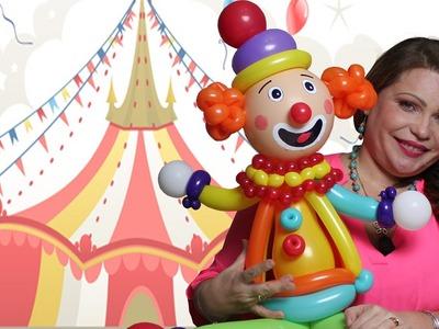 Como hacer un payaso  Parte I El Cuerpo Circo y Leones DIY. Balloons Clown Circus The Body