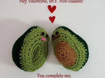Crochet Tutorial: Avocado Amigurumi