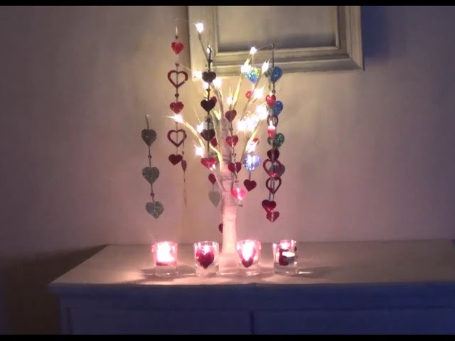 Decoración para San Valentín  DIY