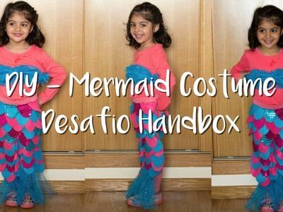 DIY - Cómo hacer un Disfraz Sirenita | Desafio Handbox colab. Ribes&Casals