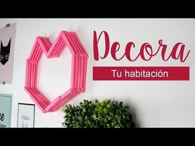 DIY DECORA TU HABITACION PARA SAN VALENTIN. DIA DEL AMOR Y LA AMISTAD - Hablobajito