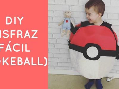 DIY Disfraz de pokeball