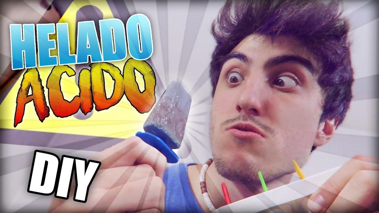 DIY EL HELADO MAS ÁCIDO DEL MUNDO!