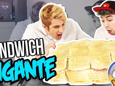 DIY EL SANDWICH MÁS GRANDE DEL MUNDO