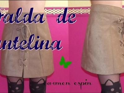 DIY:Falda de antelina