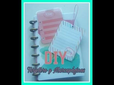 DIY: Tarjetero y marcapaginas
