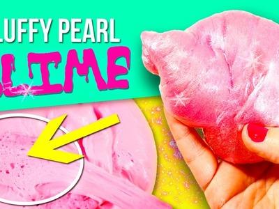 ¡¡NUEVO!! Cómo hacer SLIME de ESPONJA PERLADO * ¡¡NUEVA RECETA sin borax!! * DIY Fluffy pearl Slime