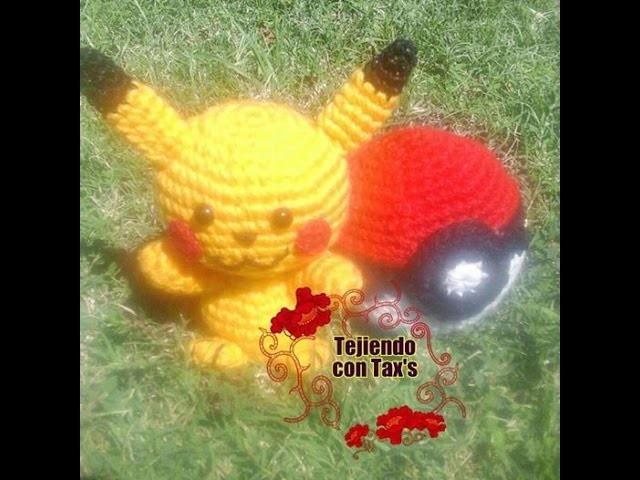 Pikachu | Amigurumi | Tejer | 480x640
