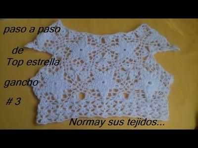 Top,blusa o vestido en crochet, crea tu propio diseño!