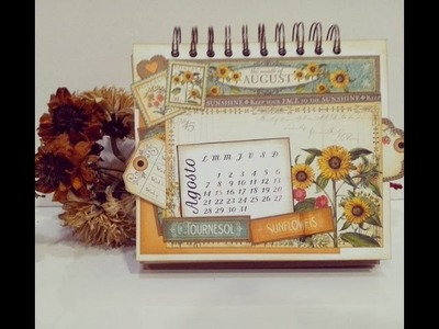 Calendario Graphic45 tutorial (primera parte)