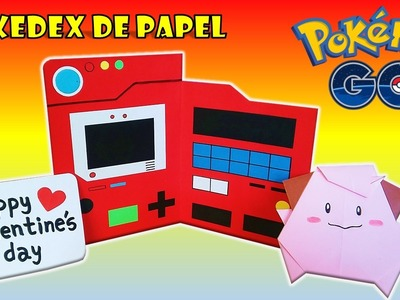 COMO HACER TARJETA POKEDEX DE PAPEL  POKEMON GO - DIY how to make pokedex pokemon