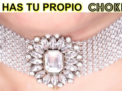 DIY COMO HACER UN CHOKER. HOW TO MAKE A CHOKER