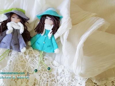DIY muñecas de fieltro