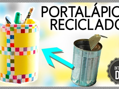 DIY Pencil HOLDER * DIY Portalápices o LAPICERO casero ✅  Top Tips and Tricks in 1 minute