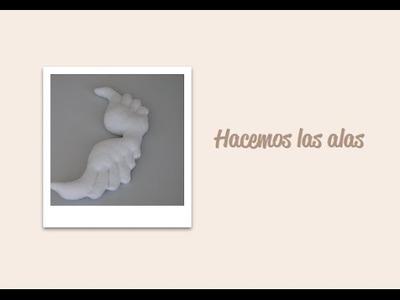 Paso 18 - Hacemos las alas - Diy - Handmade